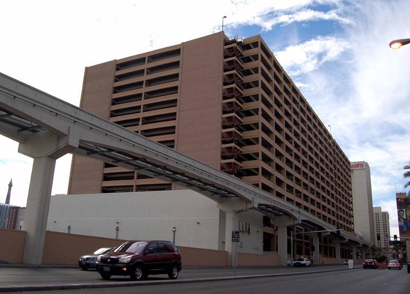 Venetian Hotel  Casino Parking Garage  Las Vegas Nevada  John A Martin  Associates of