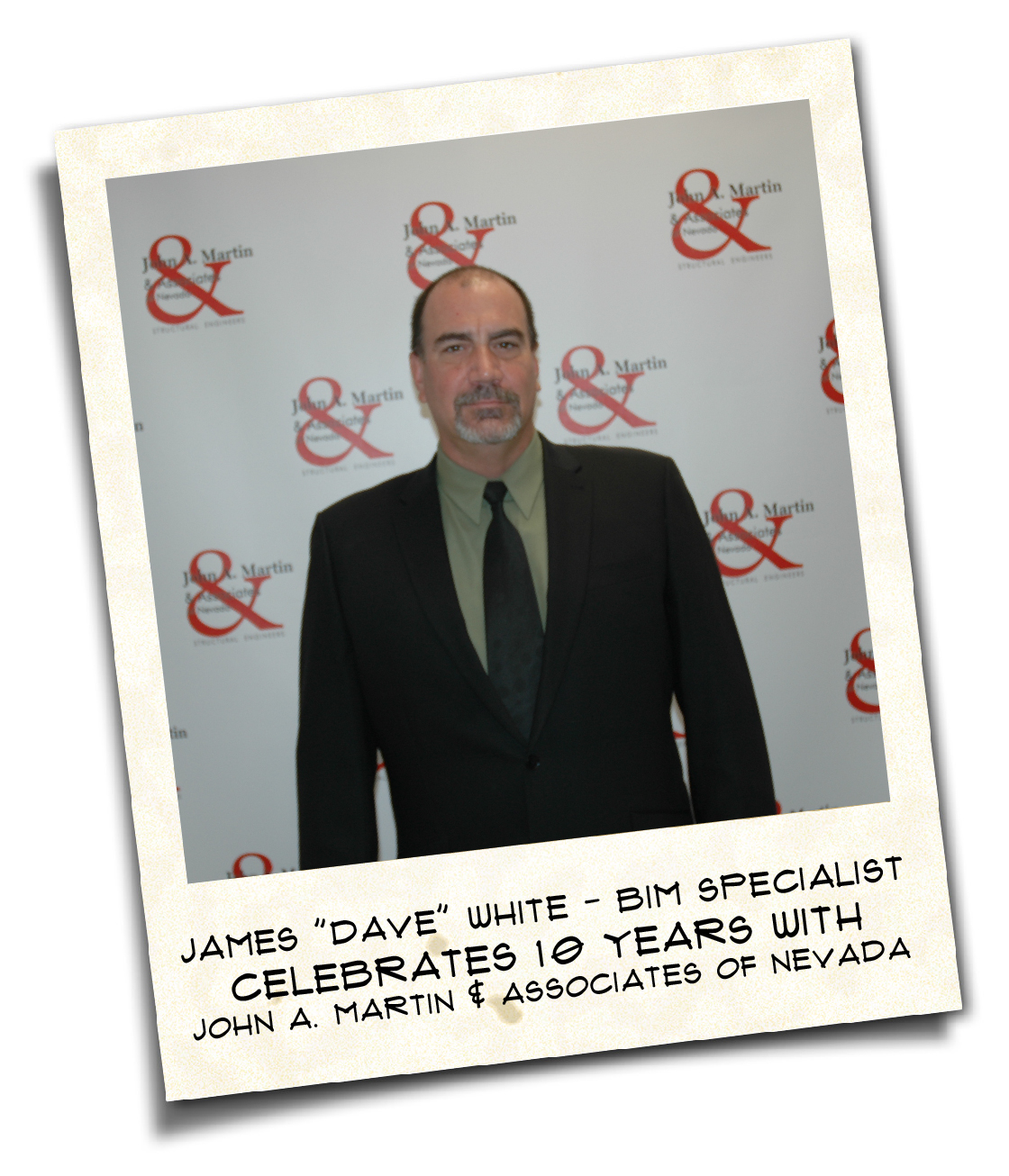 "James ""Dave"" White - BIM Specialist - 10 Year Anniversary"