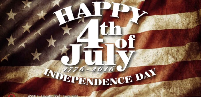 John A. Martin & Associates of Nevada - Happy 4th of July