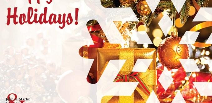 John A. Martin Associates Happy Holidays Las Vegas
