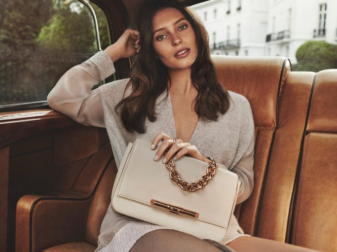 Ella Woodward features in new Amanda Wakeley campaign