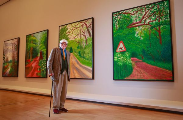 David Hockney Current - John Mcdonald