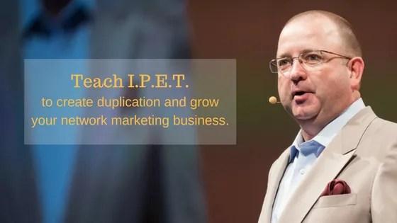 Teach I.P.E.T. To Grow Your Business