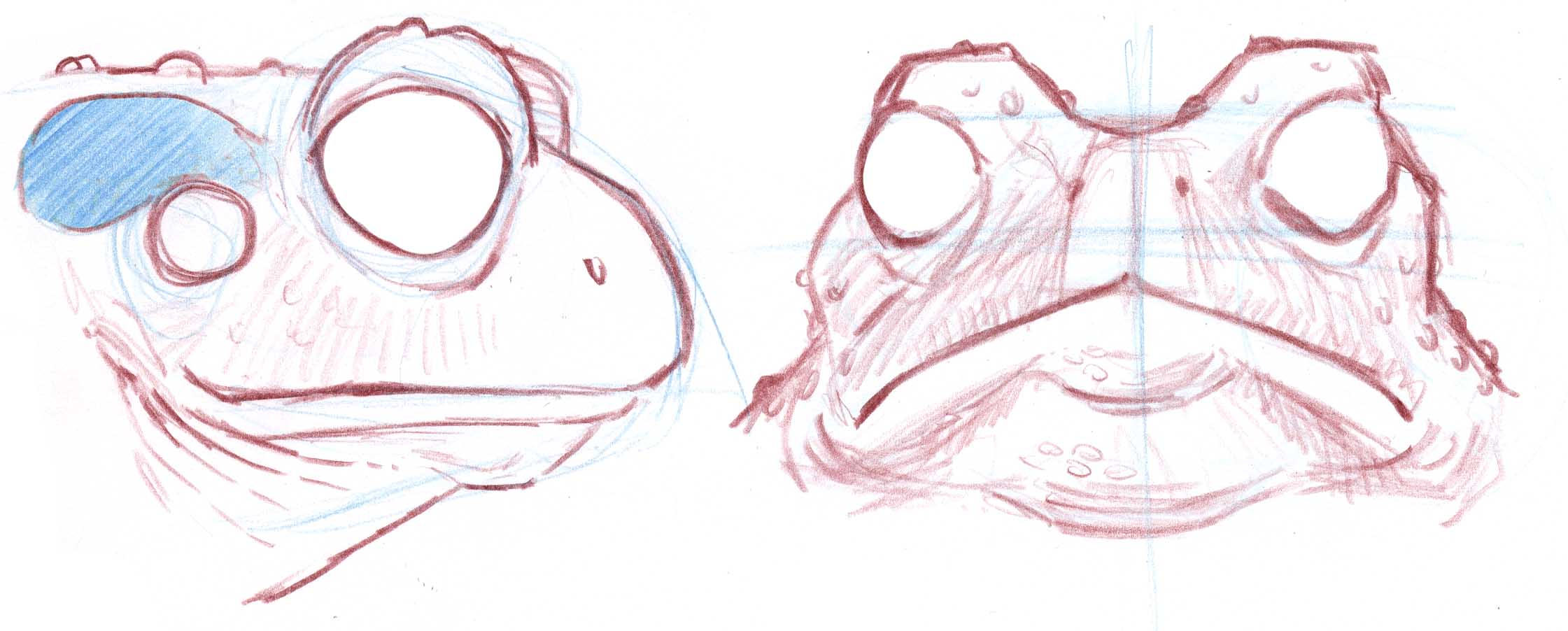 how to draw toad the easy way