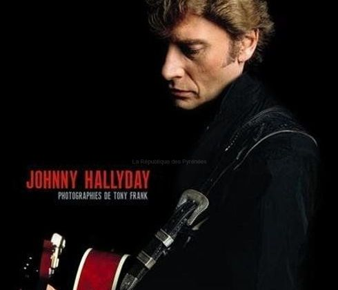 Photographies Johnny Hallyday par Tony Frank