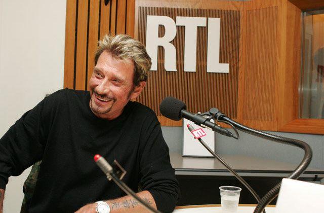 Johnny Hallyday interview sur RTL
