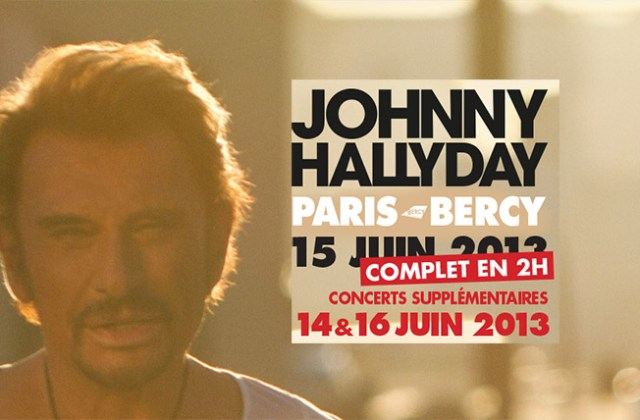 Johnny Hallyday 2013
