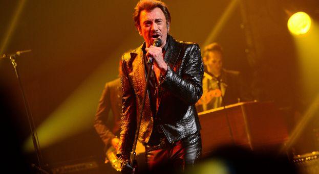 Johnny Hallyday concert citadelle namur belgique