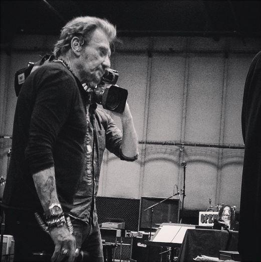 johnny hallyday repetition tournée rester vivant 2015