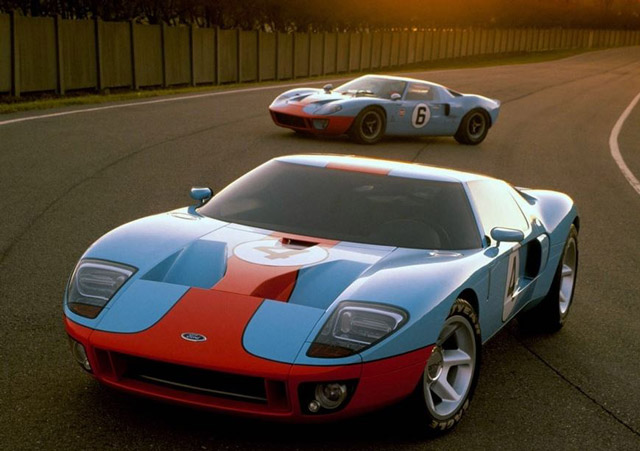 Voiture-Ford-GT-de-Johnny-Hallyday