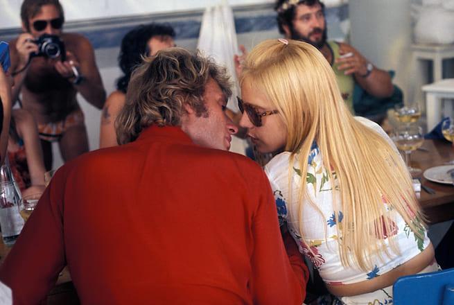 Johnny Hallyday et Sylvie Vartan en vacances à Cannes