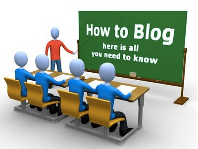 A Guide to Blogging for Dummies