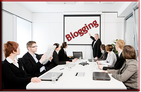 Start blogging in a couple of easy steps