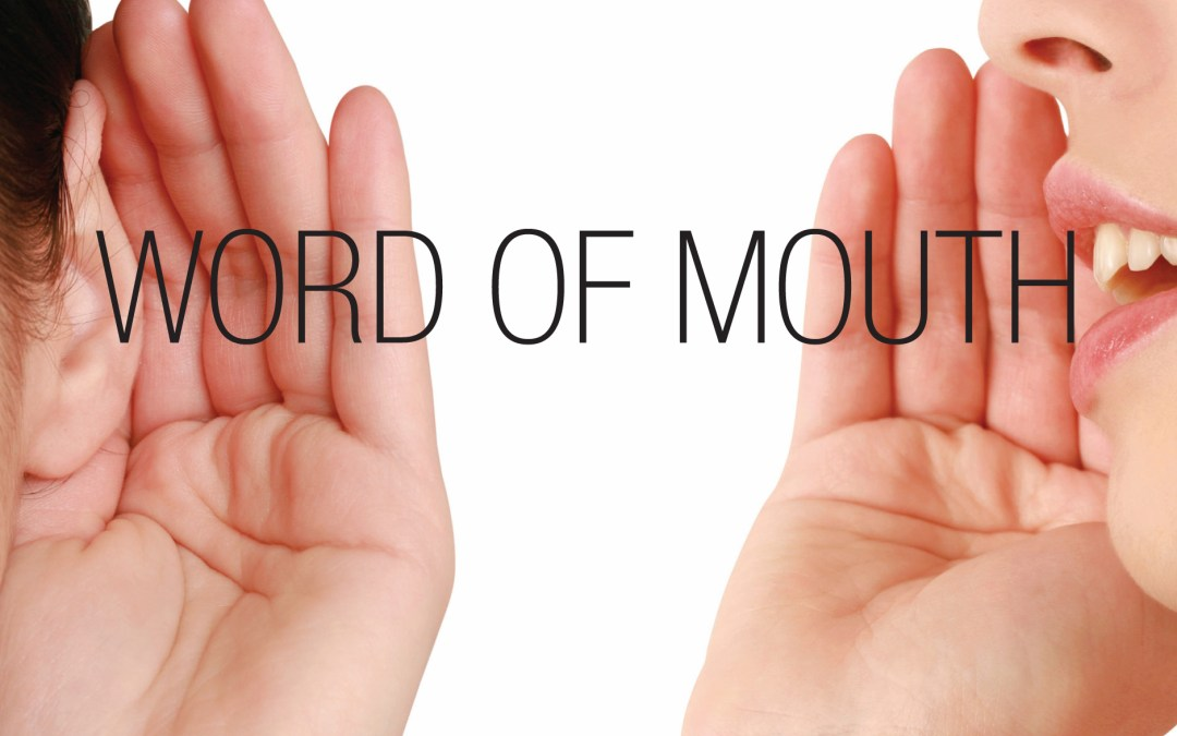 Social media is a form of word of mouth marketing