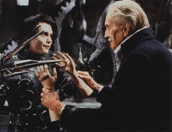Vincent Price Edward Scissorhands