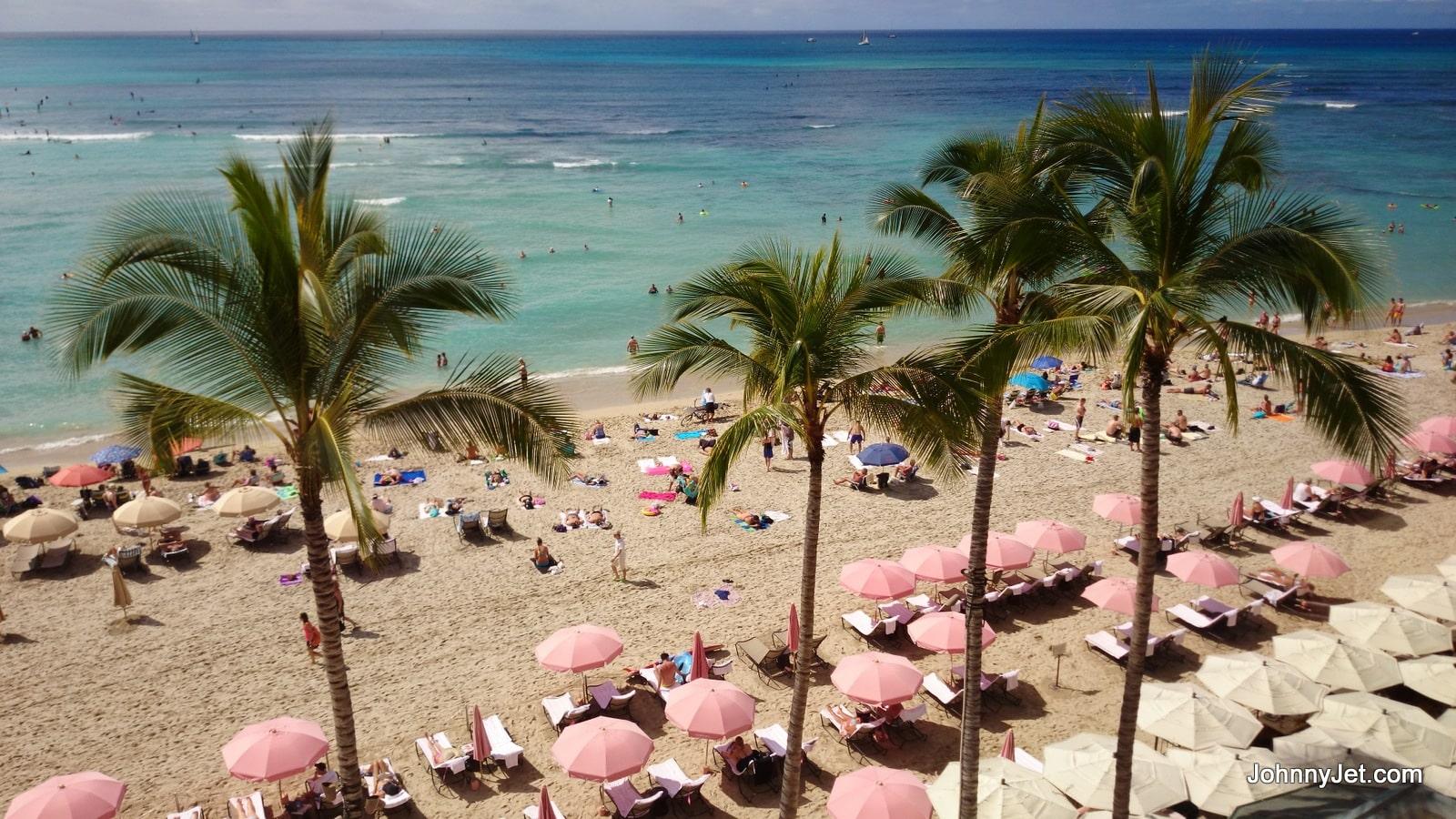 Royal Hawaiian Hotel view from room