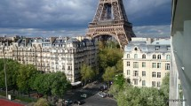Pullman Hotel Paris France Eiffel Tower View