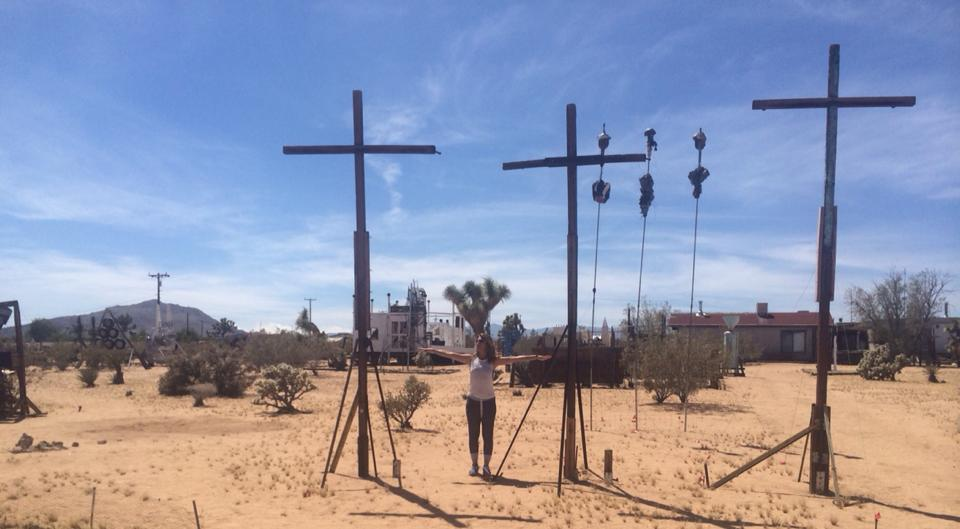 Noah Purifoy Outdoor Desert Art Museum Joshua Tree