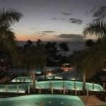 Lobby view at dusk