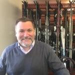 Ski valet (actually VP of Hospitality Jim Westhall) at Sugarbush
