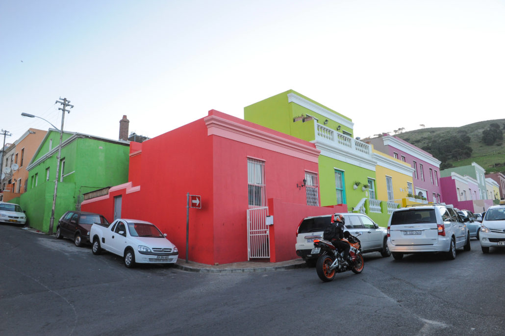 The colorful Cape Town village of Bo Kaap