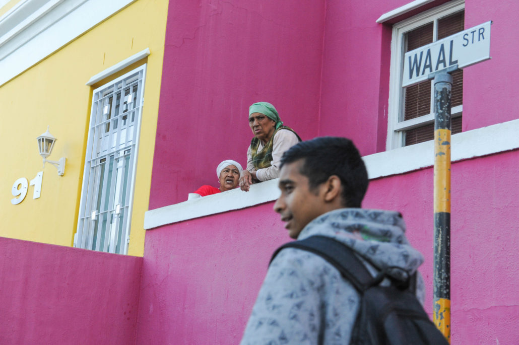 The Muslim community established the colorful Cape Town village of Bo Kaap in 1834 when they were freed from slavery