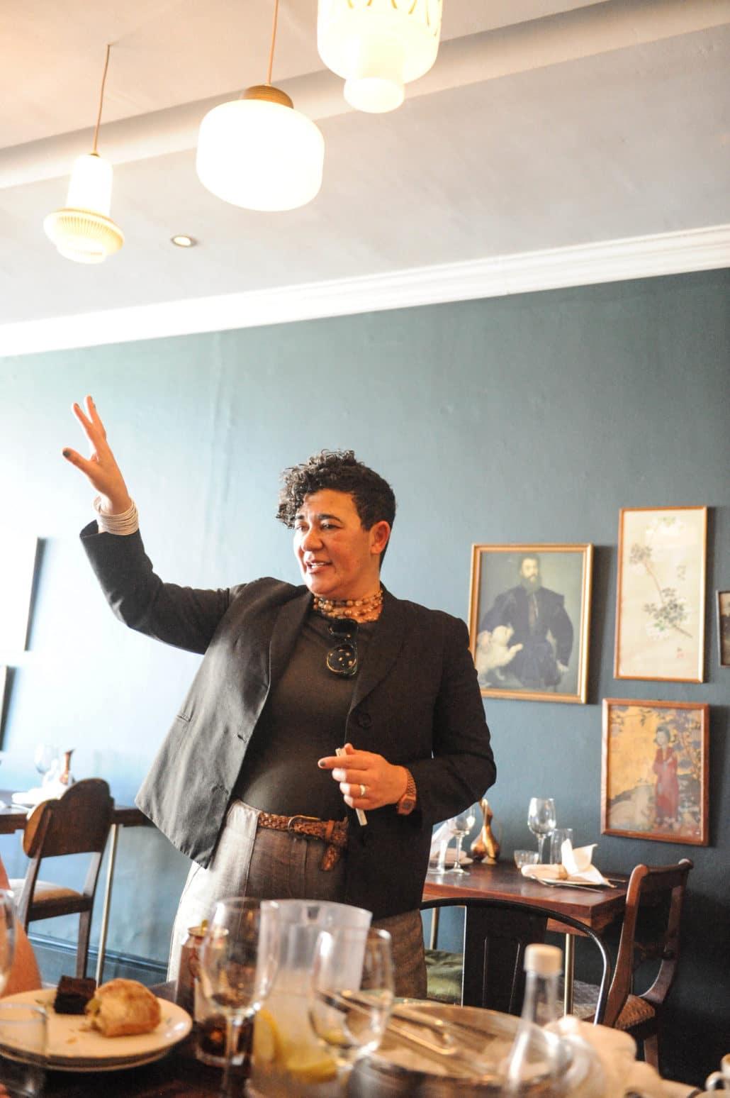 Karen Dudley: chef, writer, owner of The Kitchen