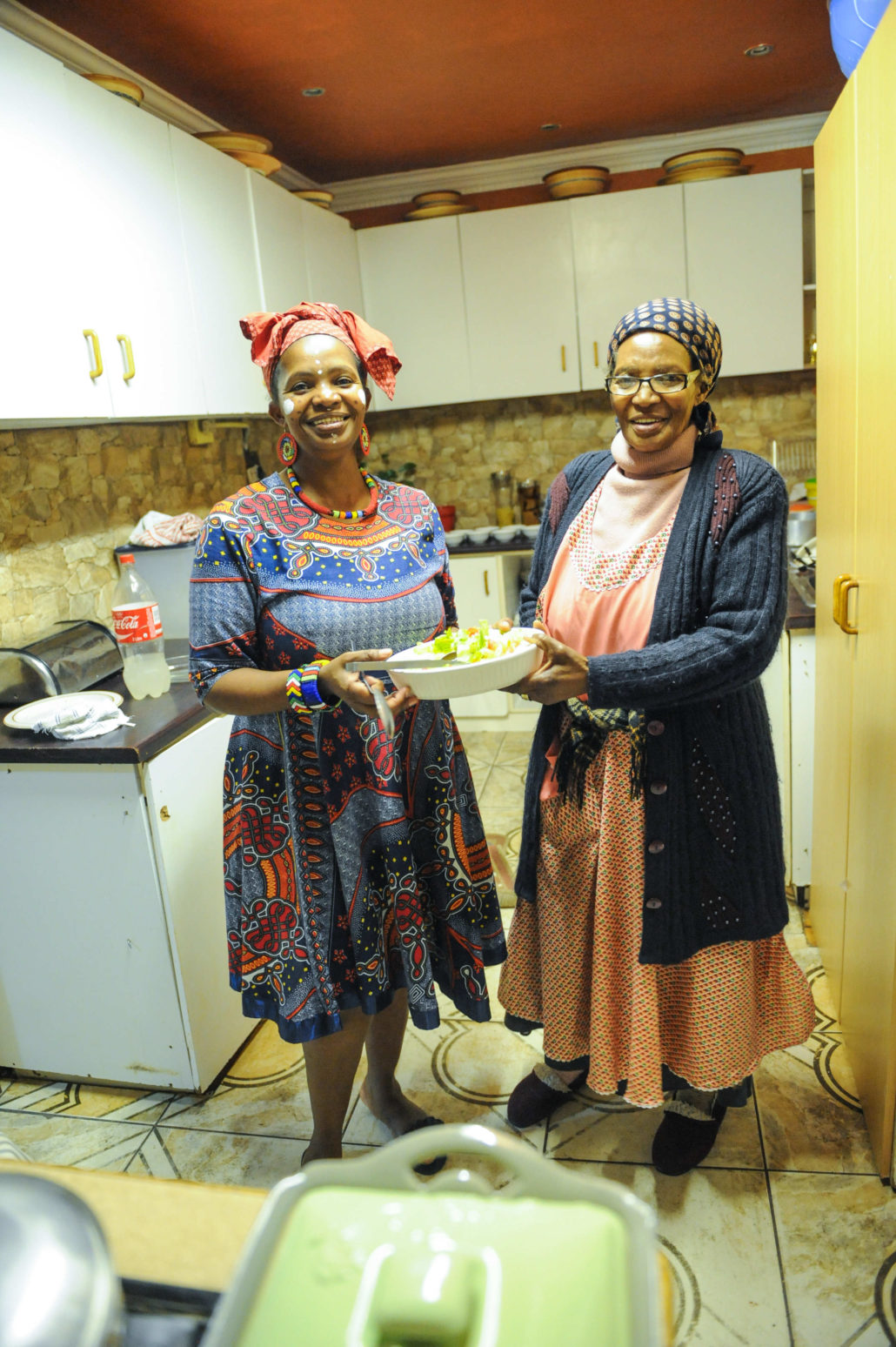 Our host, Nocawe and her mother