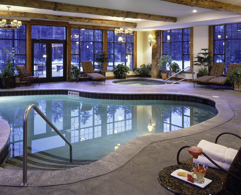 Indoor pool illuminating Whiteface Lodge's four-season bliss (Credit: Whiteface Lodge)