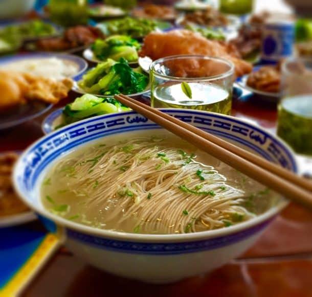 Suzhou noodles