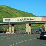 The entrance to Sonoma Raceway