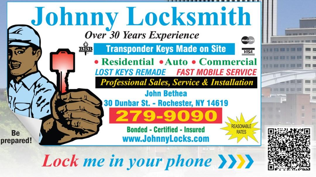 Johnny Locksmith Rochester NY