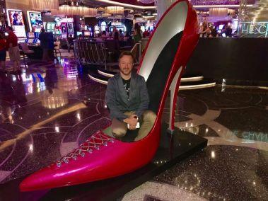 Cosmo shoe decor