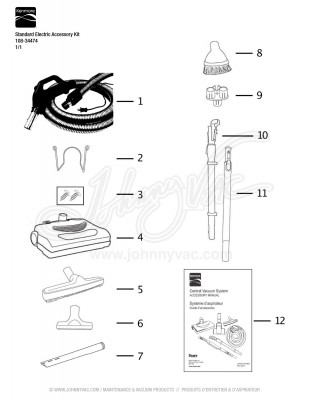 Kenmore Standard Electric Accessory Kit 108-34474