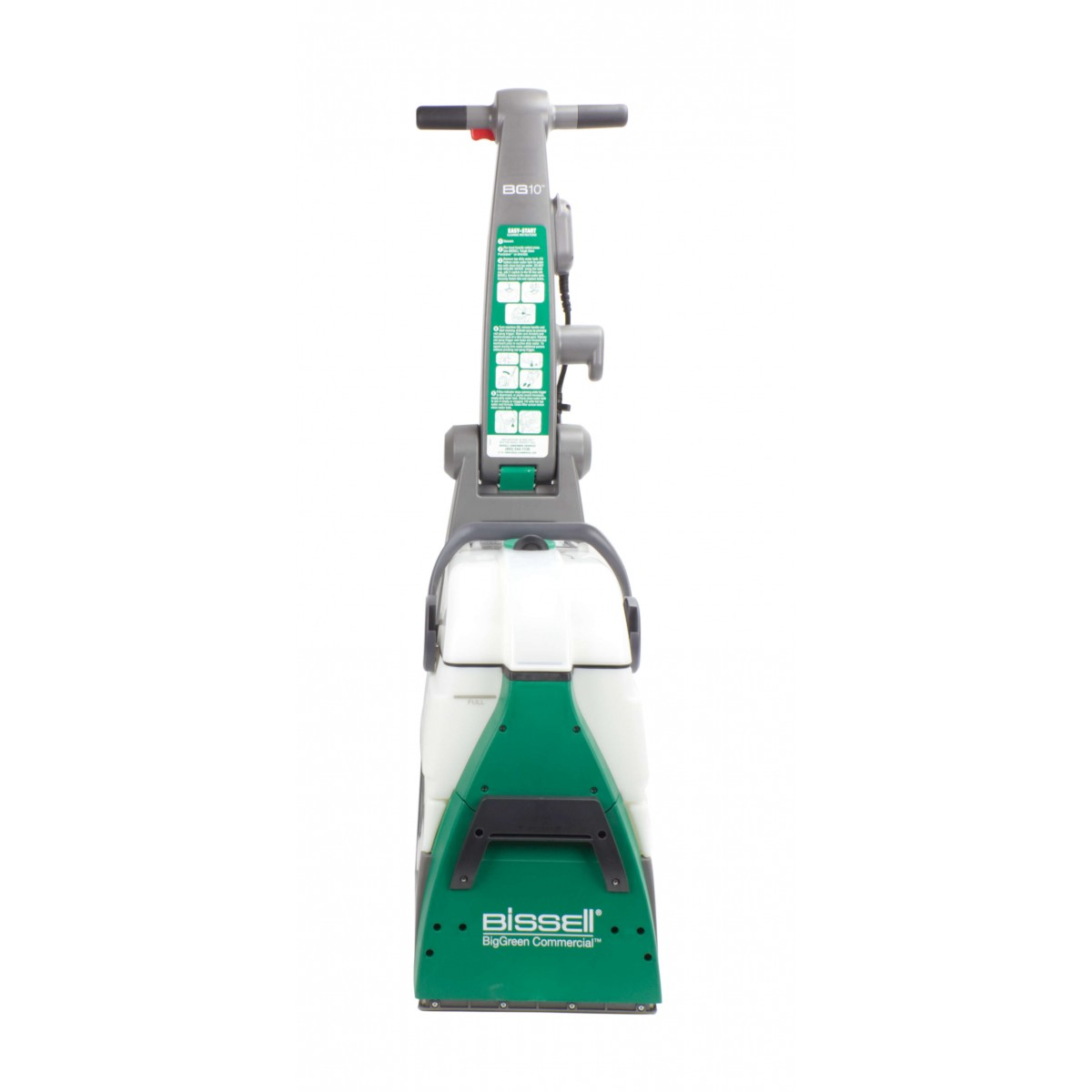 hight resolution of bissel professionnal upright carpet cleaner big green