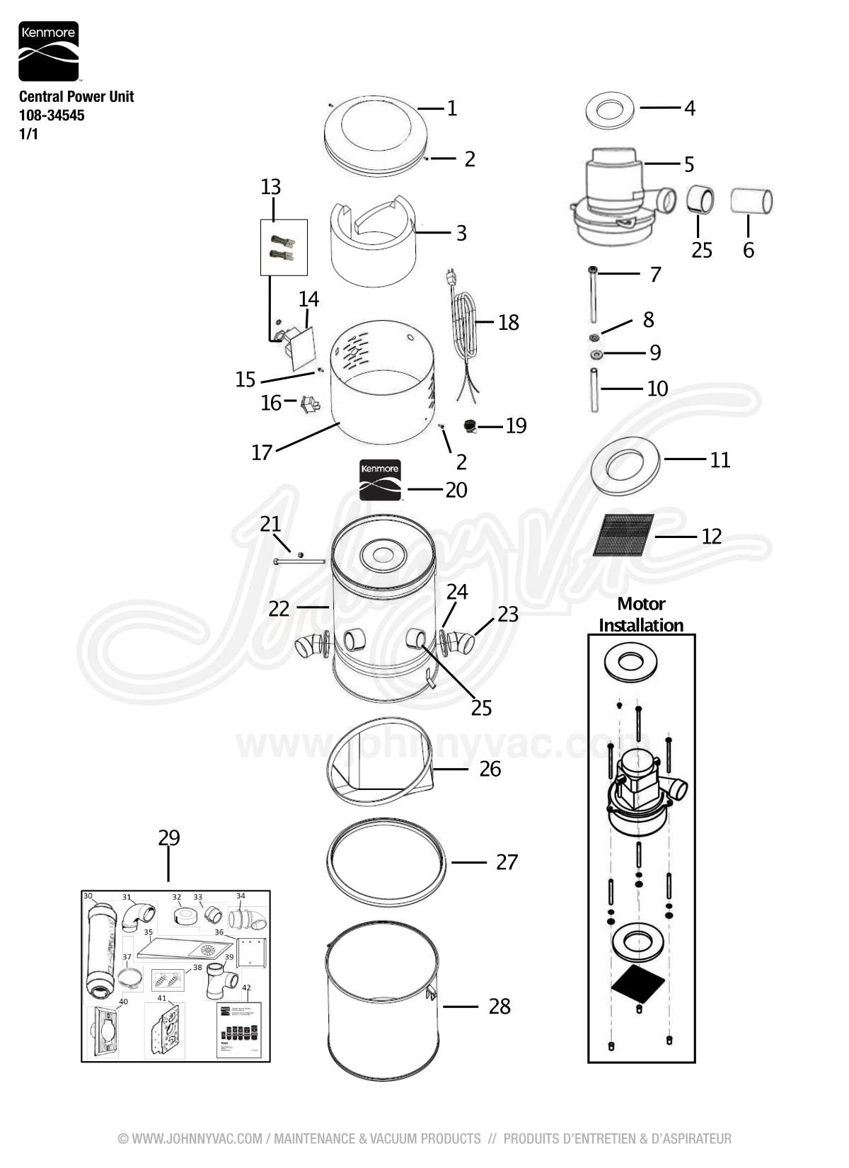 Assembly Diagram Parts List For Model
