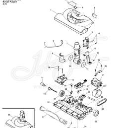 vacuum schematic exploded view for kenmore power mate canister vacuum 116 23206110c  [ 1200 x 1650 Pixel ]