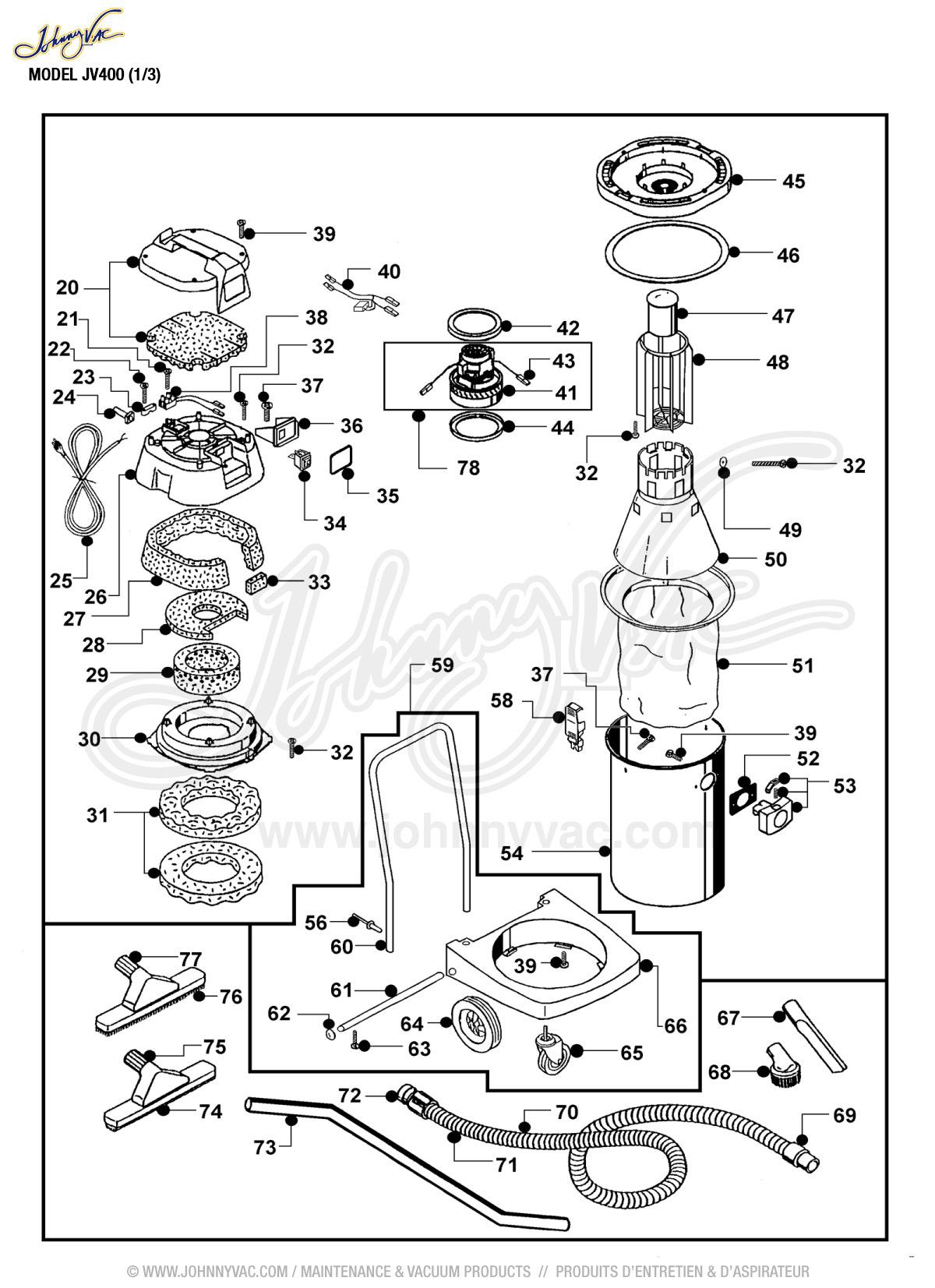 Craftsman 2.5 gallon wet dry vac manual