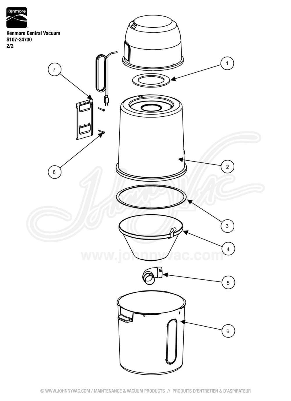 medium resolution of s107 parts diagram wiring diagramkenmore central vacuum s107 34730vacuum schematic exploded view for kenmore