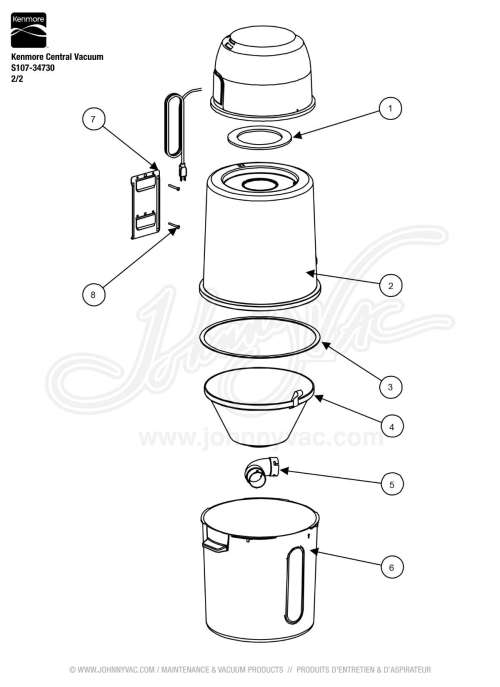 small resolution of s107 parts diagram wiring diagramkenmore central vacuum s107 34730vacuum schematic exploded view for kenmore