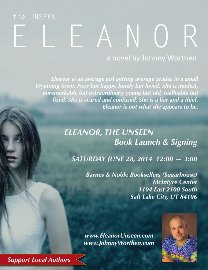 Setting as Character, a Review & a Recipe - Eleanor by @JohnnyWorthen