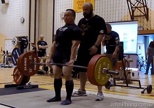 2013 CPF Amateur Powerlifting Championships  Deadlift 3rd Attempt  255 Kg  562.2 lb