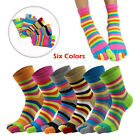 1 Pack Men's five finger toe Socks Cotton Ankle Casual Sports Low Cut Breathable