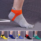 JN_ KQ_ 1 Pair Mens Breathable Low Cut Toe Socks No Show Athletic Five Finger