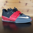 Nike Romaleos 3 Weightlifting Crossfit Trainers Grey Red White 852933-600