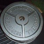 Cap 45 lb Olympic Plates