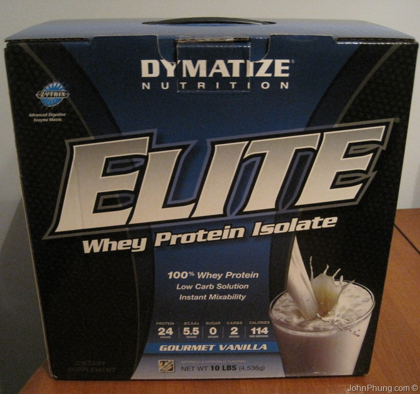 dymatize elite whey protein isolate review
