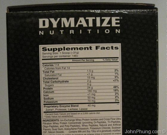 Dymatize Elite Whey Protein Isolate