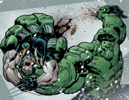 hulk rips wolverine in half