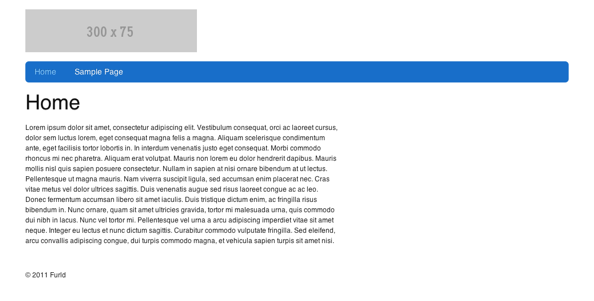 New html5 home screen